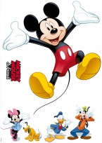 Sticker decorativ Mickey Mouse and Friends 14017 50x70cm